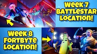 NEW SEASON 9 WEEK 7 & 8 LOADING SCREENS In Fortnite BR - SECRET BATTLE STAR LOCATION WEEK 7 SEASON 9