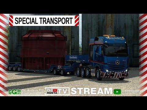 [ETS 2] ● DLC SPECIAL TRANSPORT● Перевозка негабаритных грузов ● Стрим#2