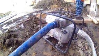 видео Мотопомпы KOSHIN (Япония)