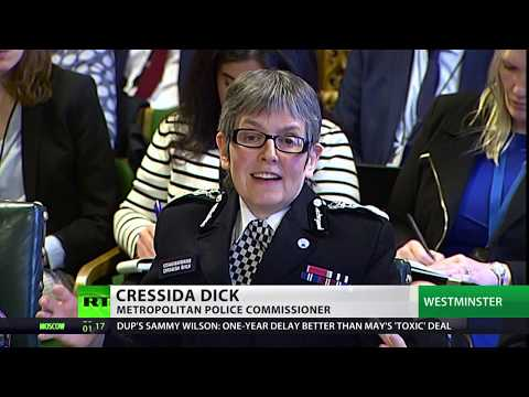 Cressida Dick: 'worst level of knife crime in 40 years'