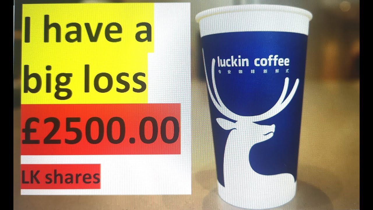 big loss stock market Luckin Coffee#Stock Delisted from Monday luckin coffee no more in nasdak!!