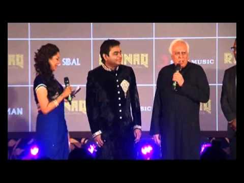 When Kapil Sibal mesmerized with his 'Raunaq'