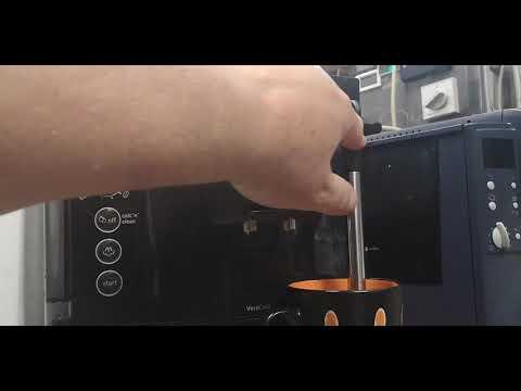 Bosch kávéfőző Tes501 Verocafe vízkötelenítés (Így csináld!)
