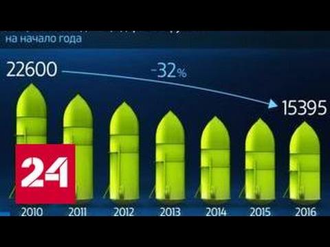 Мир в цифрах. Как быстро сокращается ядерный арсенал?