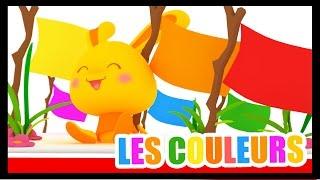 LES COULEURS - Apprendre les couleurs avec Méli et Touni