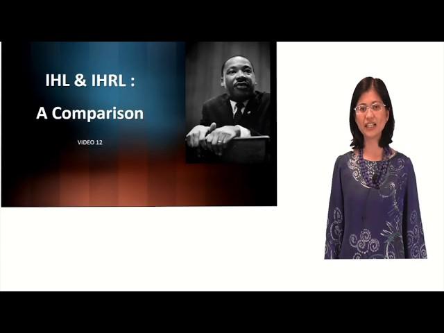 IHL & IHRL: A Comparison