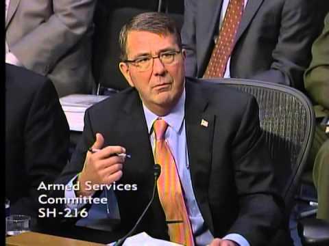 Sen. Sullivan (R-AK) questions Sec. of Defense on U.S. Military Presence in the Arctic 3/3/15