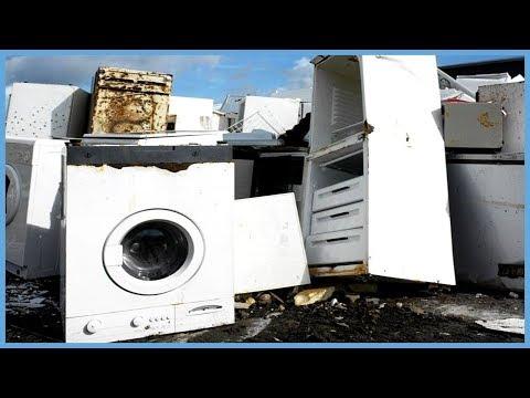 Как сдать стиральную машину на металлолом
