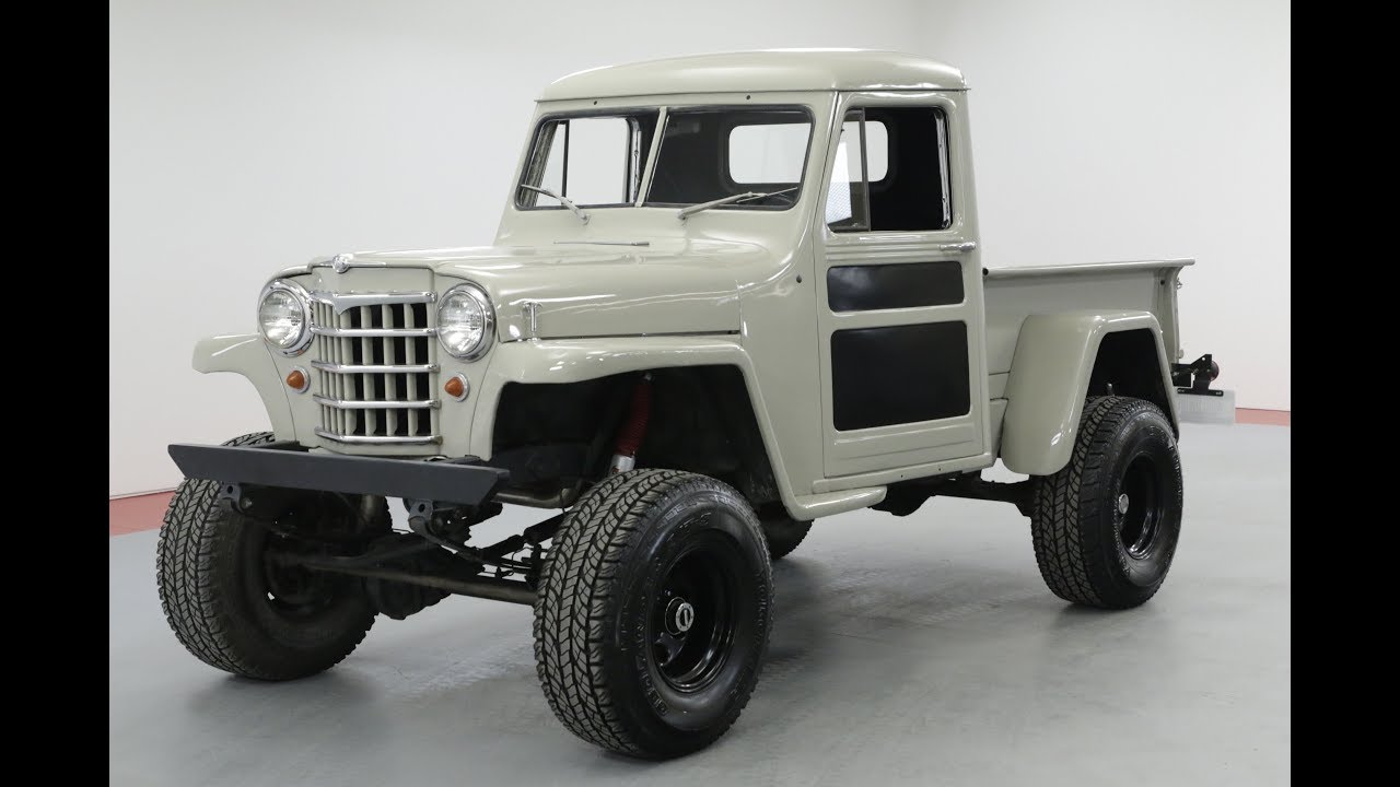 1953 Willys Jeep Pickup Youtube 1950 Pick Up
