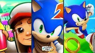 Subway Surfers [BALI 2019] VS Sonic Dash 2: Sonic Boom VS SONIC DASH