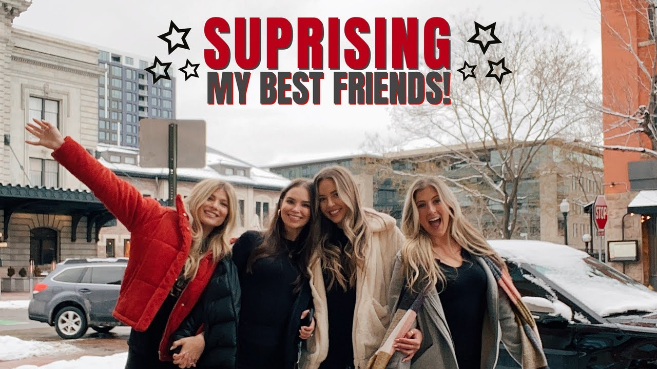 SUPRISING MY BEST FRIENDS IN A DIFFERENT STATE!! | Jaylee Merrill