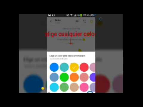 how to change the color of skype