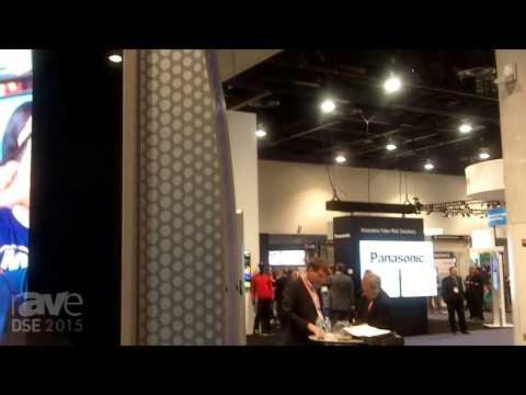 DSE 2015: vertiGo Digital Displays 75in Outdoor, High-Bright Freestanding Display