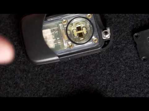 how to replace the battery in your lexus key fob youtube. Black Bedroom Furniture Sets. Home Design Ideas