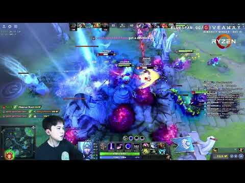 Immortal Blue Span Dota 2 Weekend Party Games!