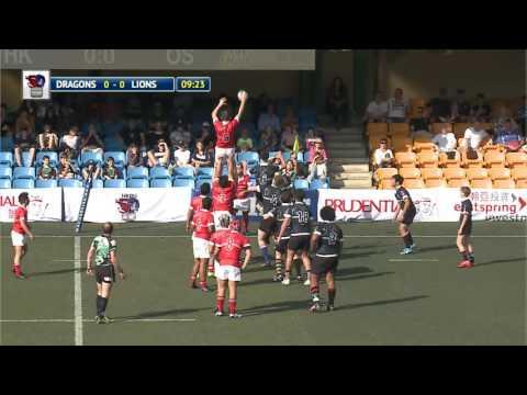 Hong Kong Dragons vs Overseas Lions - Boys under 16