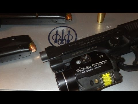 Beretta 96A1 Ep 2 TLR-2S Install and Over View Strobe, Light