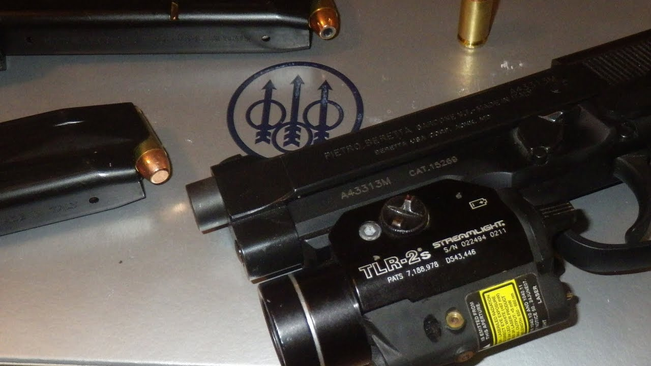 Beretta 96A1 Ep 2 TLR-2S Install and Over View Strobe, Light & Laser