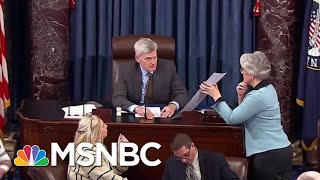 Senate Delivers Historic Rebuke Of President Donald Trump On Yemen | All In | MSNBC