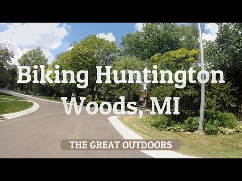 Biking Huntington Woods, MI
