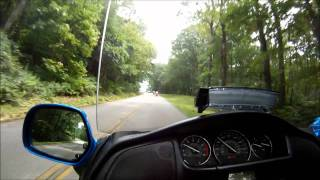 2012 Honda Goldwing GL1800 - Riding the Blue Ridge