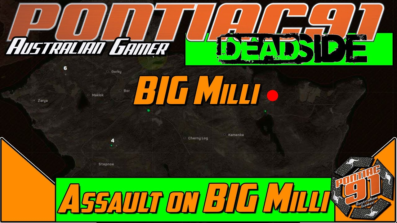 Deadside | New survival game missions and Gameplay : Assault on BIG MIILI
