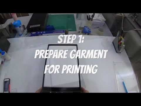 Ricoh Ri100 Direct to Garment T-shirt printer