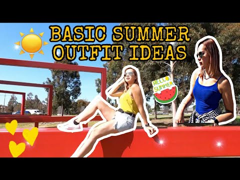[VIDEO] - BASIC SUMMER OUTFIT IDEAS   LOOKBOOK 2019 1