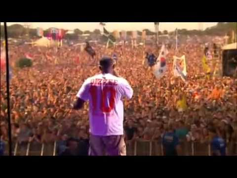 Youve Got The Dirtee Love  Dizzee Rascal ft Florence and the Machine Glastonbury 2010
