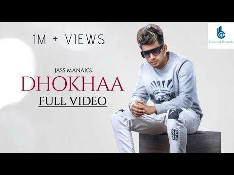 Dhokha ( Full song ) jass manak || Sidhu Moose Wala || Criminal Records