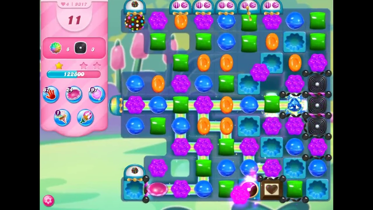 Download Candy Crush Saga Level 9317 - NO BOOSTERS | SKILLGAMING ✔️
