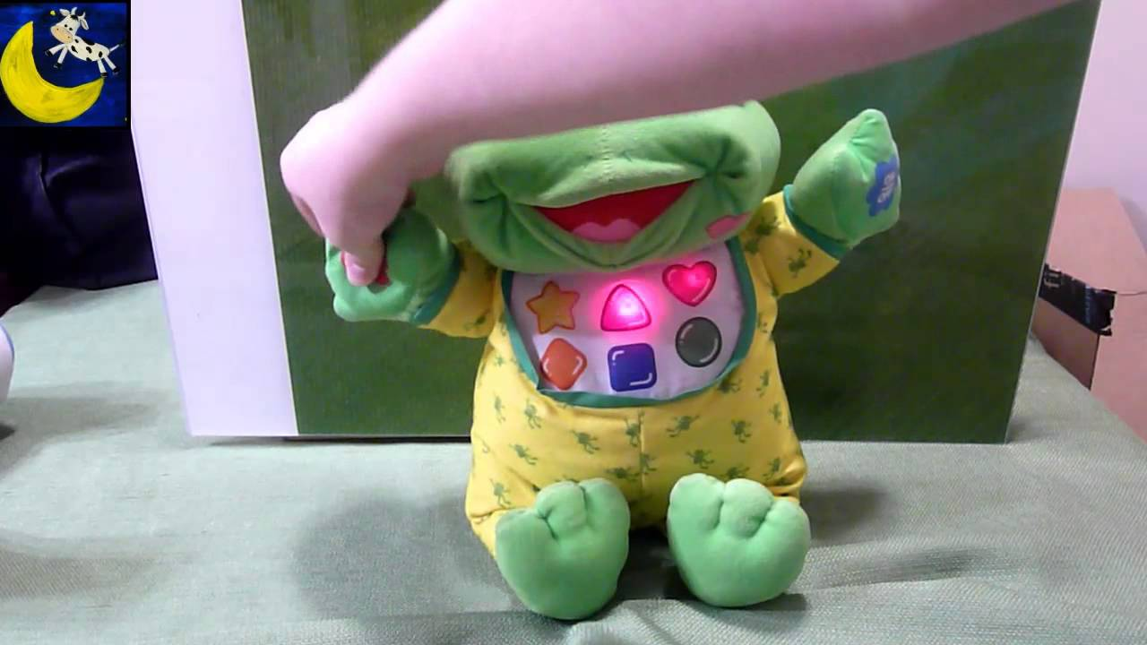 Vintage Hug And Learn Baby Tad From 1999 Leapfrog Teaches