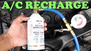 Recharging an AC System