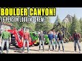 STARTING OUR LOGGING COMPANY | 16 MAN CREW | BOULDER CANYON MAP | FARMING SIMULATOR 2019