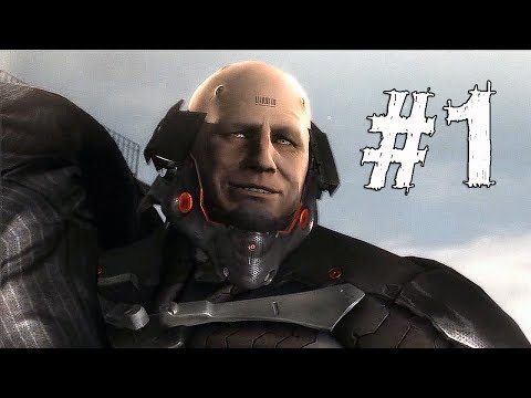 Metal Gear Rising Revengeance Gameplay Walkthrough Part 1 - GUARD DUTY