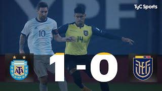 Argentina 1 vs. 0 Ecuador | Eliminatorias a Qatar 2022 - Fecha 1