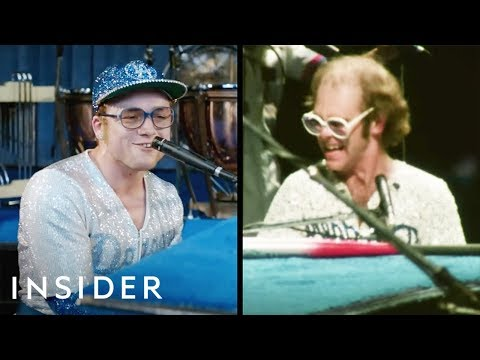 How Taron Egerton Learned To Sing And Perform Like Elton John In 'Rocketman' | Movies Insider