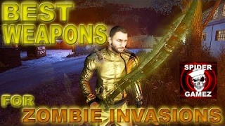 Dying Light - BEST WEAPONS FOR KILLING NIGHT HUNTERS Best Weapons For Zombie Invasions BEST WEAPON