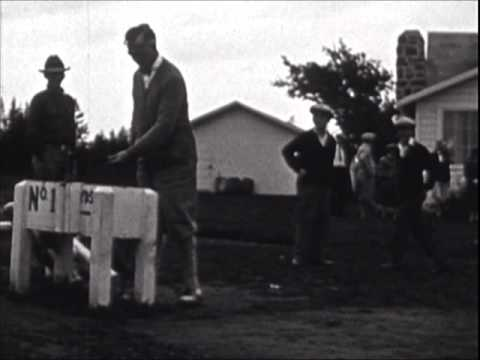 GOLF SONG-1920's Frank Crumit sings, And then he took up golf.wmv