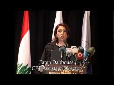 Ms. Faten Dabboussi - CEP Assistant Director