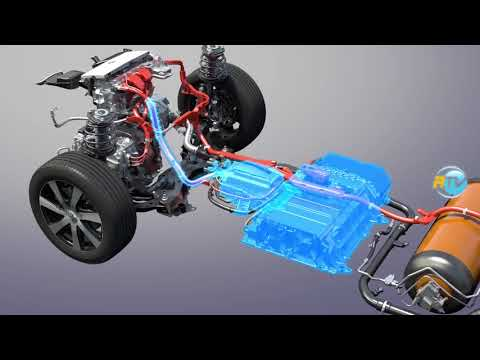 How the Toyota MIRAI hydrogen propulsion series car is manufactured.