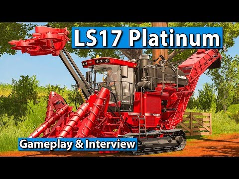 LS17 PLATINUM Edition Gameplay und Interview ► gamescom 2017