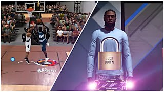NBA2K20 BUT I BROUGHT MY PURE LOCKDOWN TO RUSH 1V1 COURT AND THIS HAPPENED...😱😈
