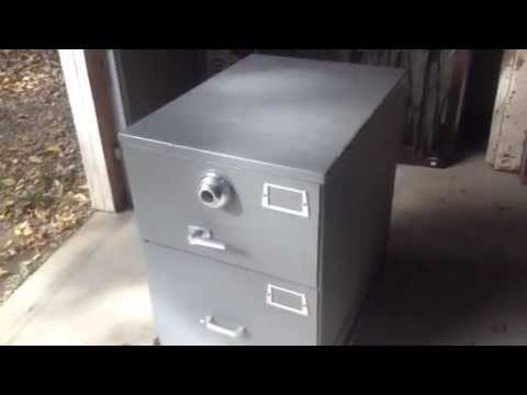 Mosler 2-Drawer safe legal Sized Governmental Type Storage