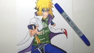 Speed Drawing Minato Namikaze (HD) ミナト 波風