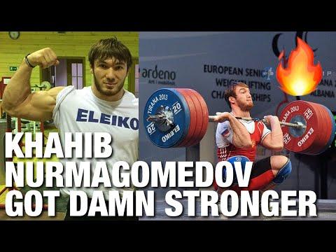 Apti Auchadov - Weightlifting training progress