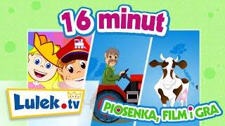 U Dziadka Lulka na wsi - Piosenka, film edukacyjny i gra dla dzieci - Lulek.tv