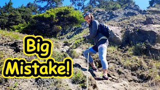 We Made A BIG Mistake | Van Life in Olympic National Park Part 2
