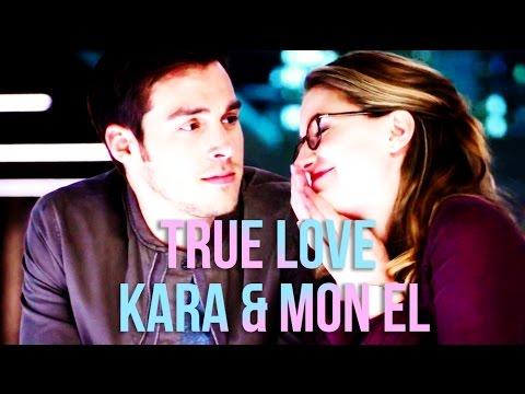 kara & mon el || true love