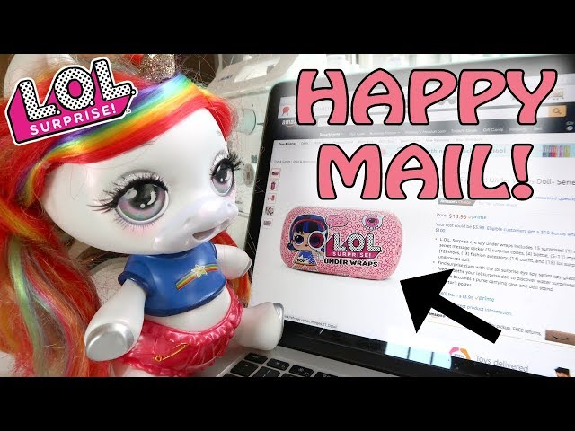Our Poopsie Unicorn Ordered Us An L.O.L. Surprise Under Wraps!